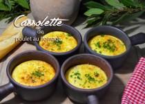 Cassolette de poulet au fromage
