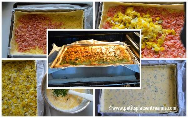cuisson tarte paysanne aux poireaux