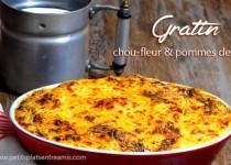 Gratin chou-fleur & pommes de terre
