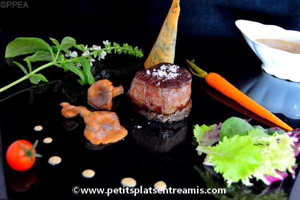 tournedos de filet de Galice sauce foie gras recette