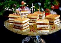 Minis sandwiches au foie gras