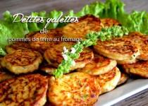 Petites galettes de pommes de terre au fromage
