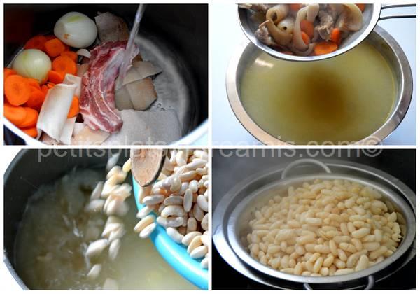 cuisson des haricots lingots