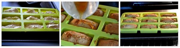 cuisson financiers noix et sirop d'érable