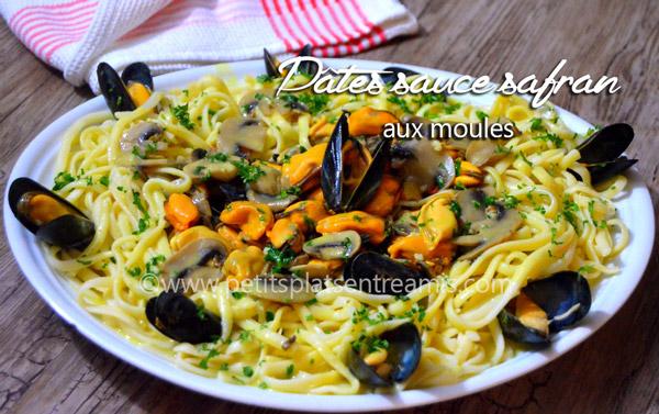 pâtes-sauce-safran-aux-moules