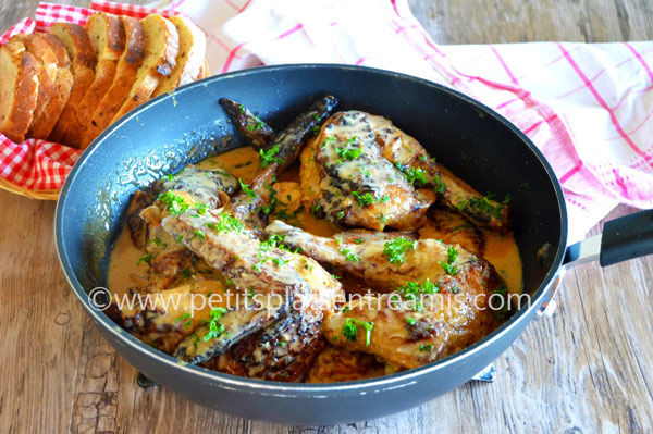 pintade-sauce-foie-gras-recette