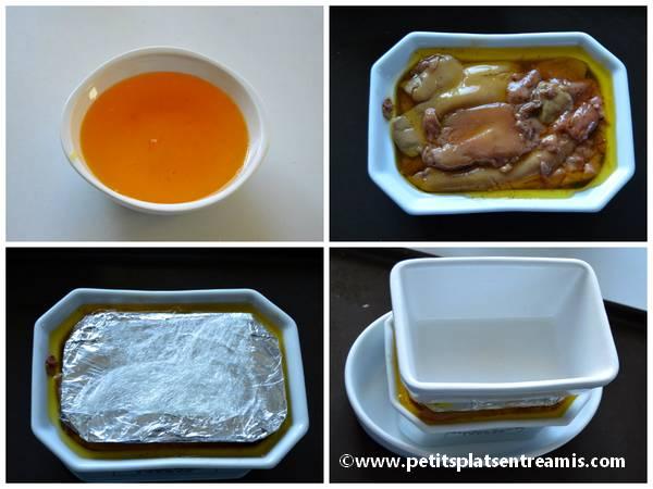 préparation foie gras maison