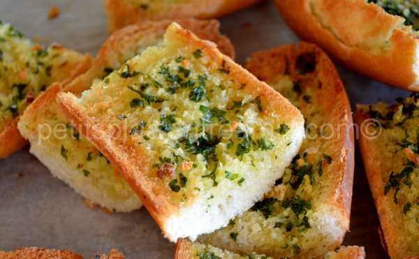 recette pain-à-l'ail