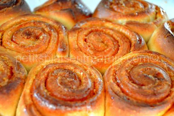 recette rolls au sirop d'érable