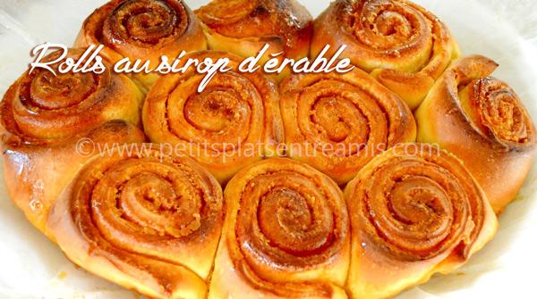 rolls-au-sirop-d'érable