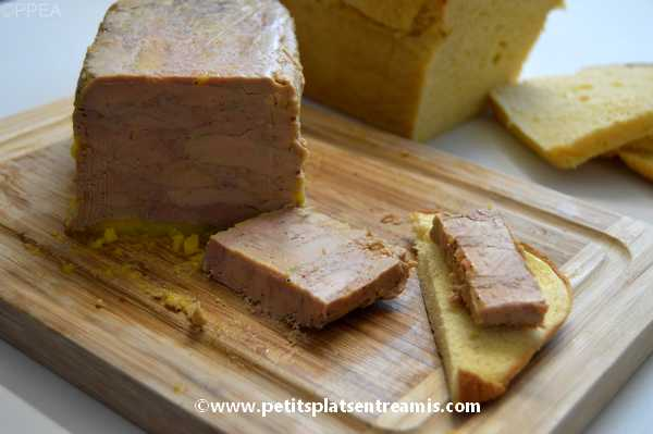 tranche de foie gras maison