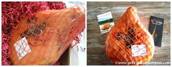 Emballage du jambon de Bayonne