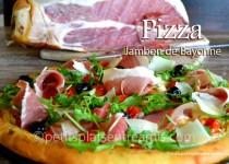 Pizza au jambon de Bayonne