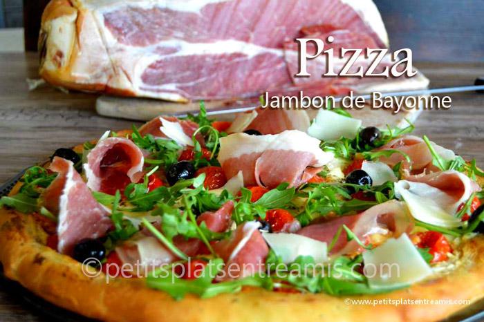 Pizza-au-jambon-de-Bayonne-des-Salaisons-de-l'Adour