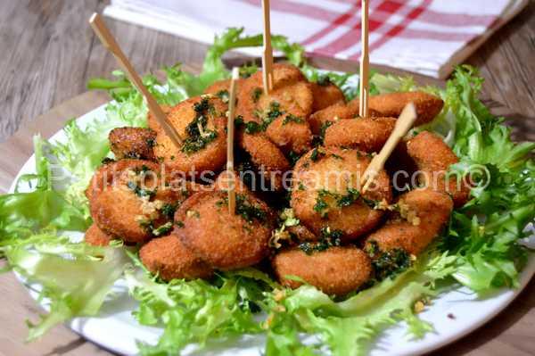 croquettes-de-boudin-blanc-panées recette