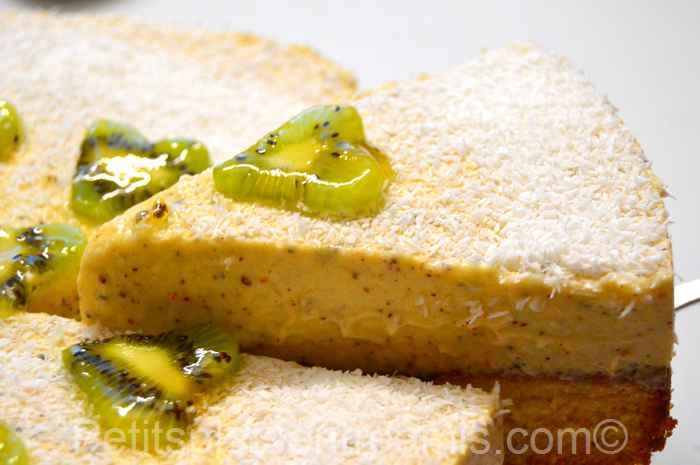 part de gâteau-à-la-mousse-de-kiwis