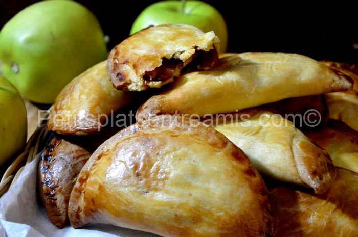 recette Chaussons sablés aux pommes caramélisées au sirop d'érable