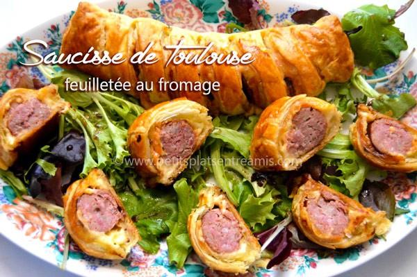 saucisse-de-Toulouse-feuilletée-au-fromage