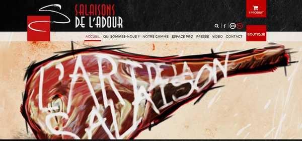 site des Salaisons de l'Adour