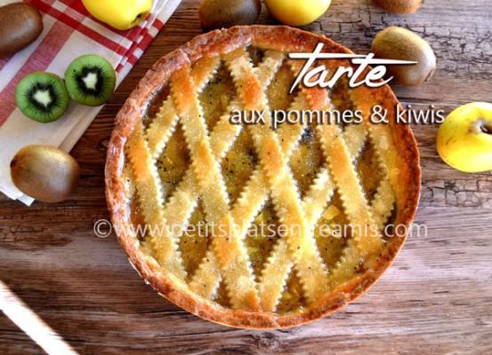 tarte-aux-pommes-et-kiwis