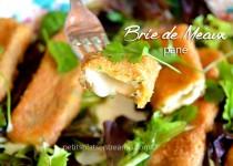 Brie de Meaux pané