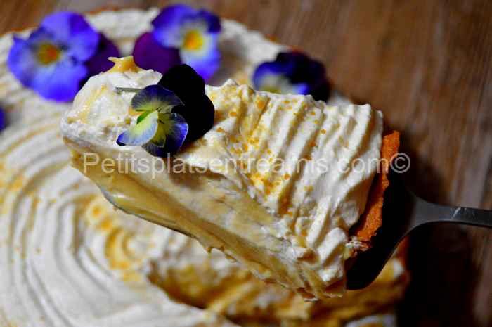 Part de tarte québecoise à la crème