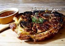 Rouelle de porc grillée
