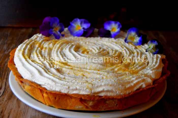 Tarte québecoise à la crème recette