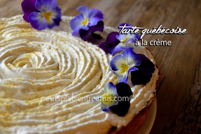 Tarte-québecoise-à-la-crème