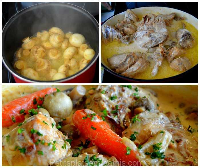 poulet au cidre mijoté