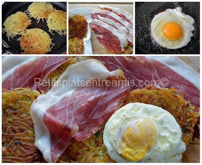 préparation jambon noir de Bigorre sur paillasson