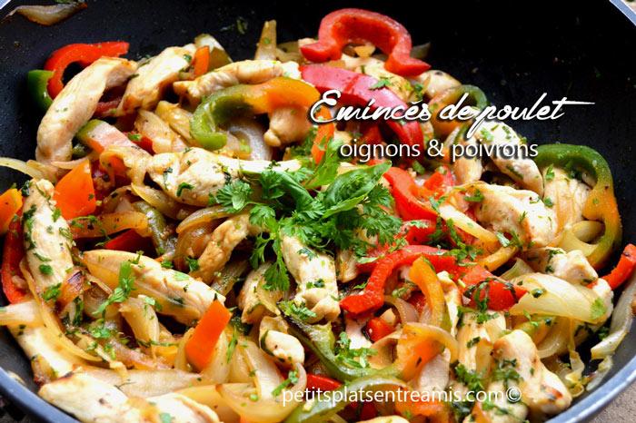 émincés-de-poulet-aux-oignons-et-poivrons