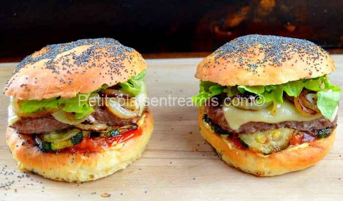 burger de boeuf sauce béarnaise recette