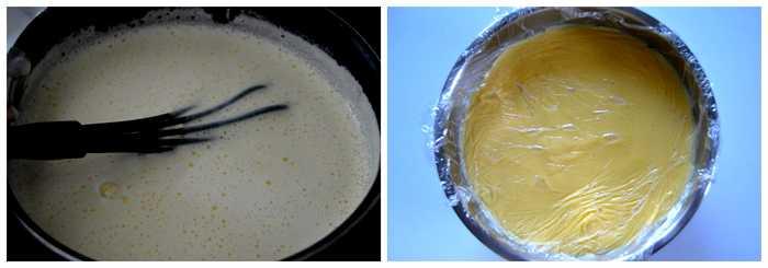 crème pâtissière pour mille-feuille