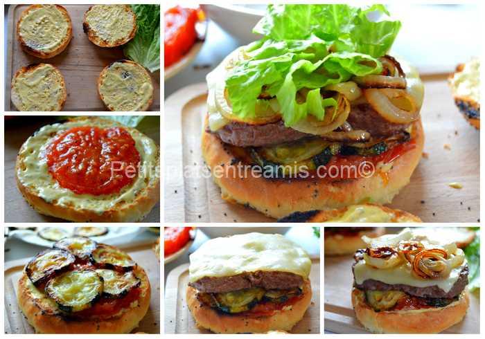 dressage burger de boeuf sauce béarnaise