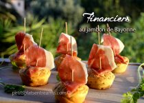 Financiers au jambon de Bayonne