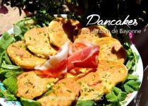 Pancakes au jambon de Bayonne