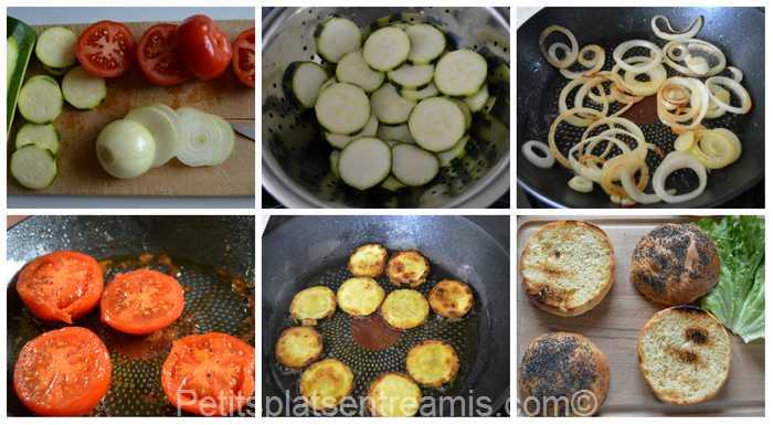 préparation burger de boeuf sauce béarnaise