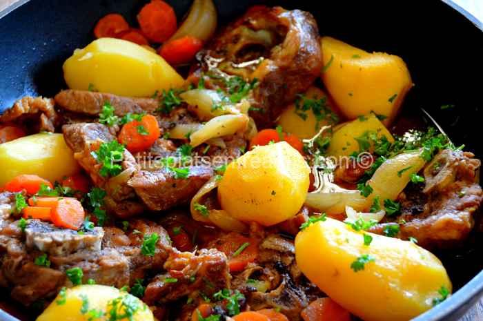 recette collier d'agneau au sirop d'érable