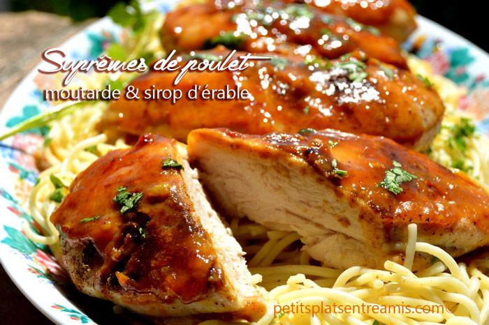 suprêmes-de-poulet-à-la-moutarde-et-au-sirop-d'érable