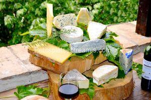 Présentation plateau de fromages