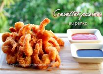 Crevettes panées au panko