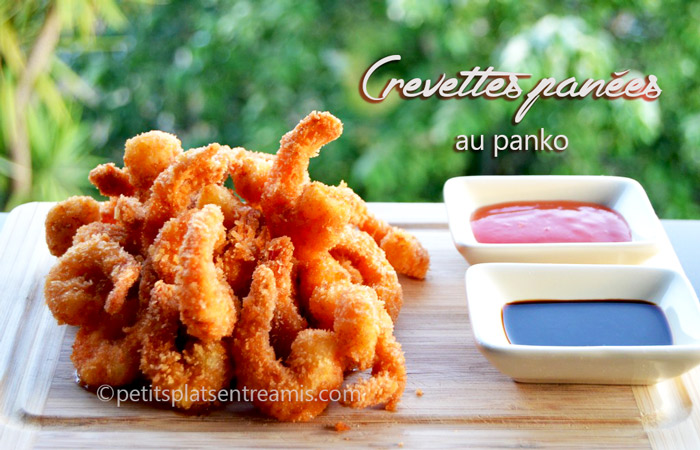 crevettes,panées,au,panko
