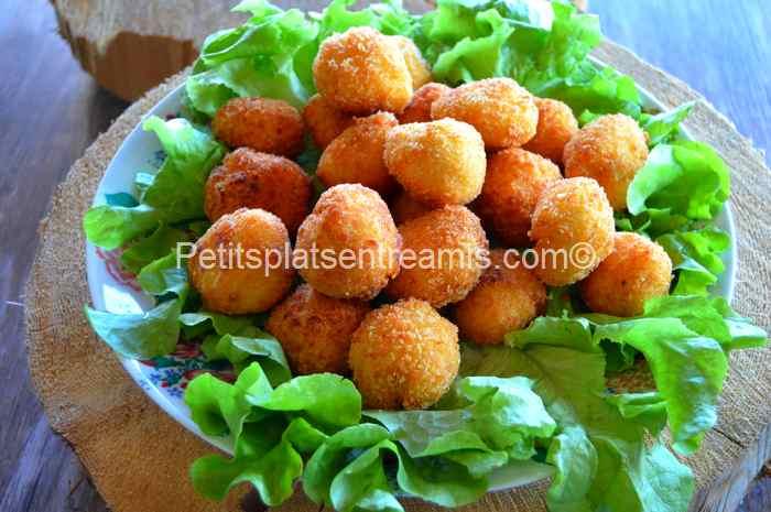 croquettes de pommes de terre et mozzarella recette