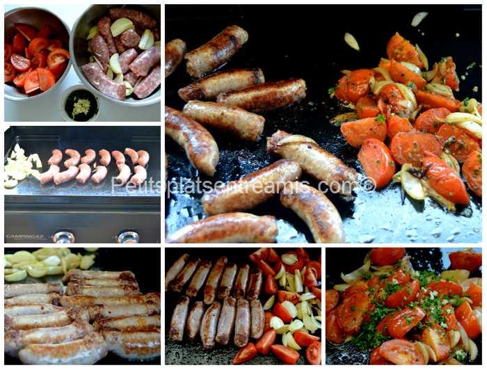 cuisson saucisses grillées