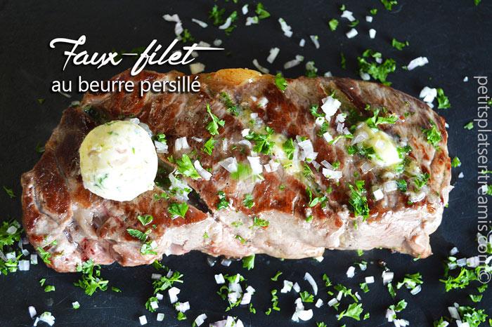faux-filet-au-beurre-persillé