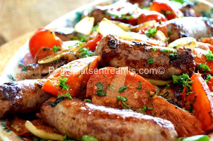 recette saucisses grillées