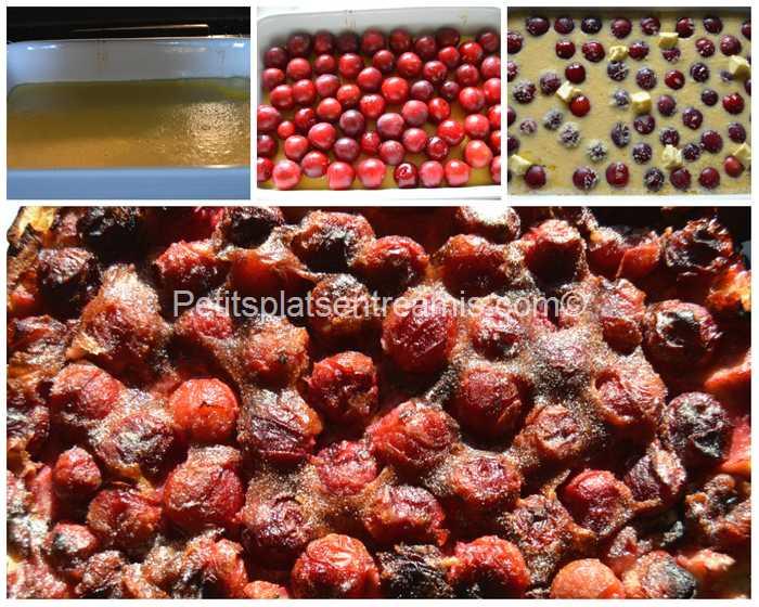 cuisson clafoutis aux prunes
