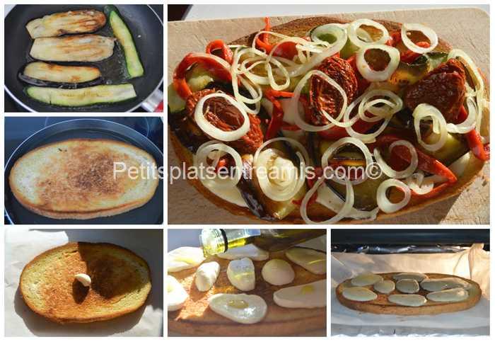 préparation bruschetta