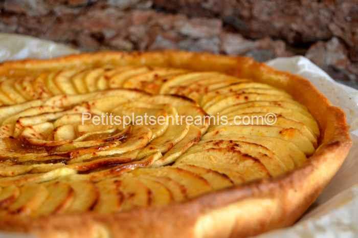 recette tarte aux pommes grand-mère